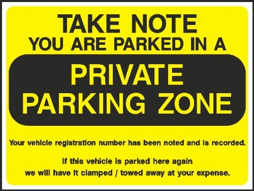 Parking Warning Notice Template Fresh Penalty Charge Notice Envelopes Parking Civil Enforcement