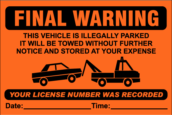 Parking Warning Notice Template Unique Parking Violation Notice Template Free Download
