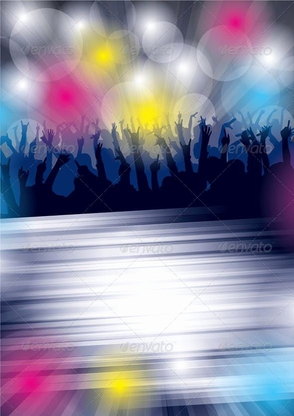 Party Backgrounds for Flyers Awesome Dance Party Flyer Seasons Holidays Conceptual