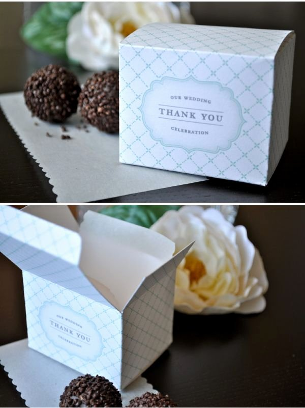 Party Favor Box Template Inspirational Diy Favor Boxes Wedding Ideas