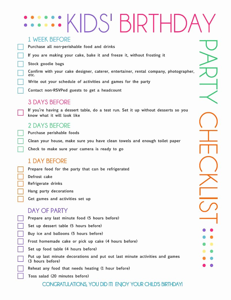 Party Planning Checklist Printable Inspirational Gastronomy by Joy Minions Party Ideas