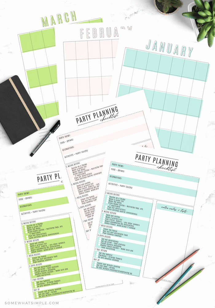 Party Planning Checklist Printable Lovely Party Planning Checklist Free Printable Party Planner