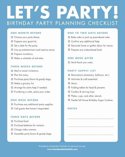 Party Planning Checklist Printable Lovely Party Planning Checklist On Pinterest