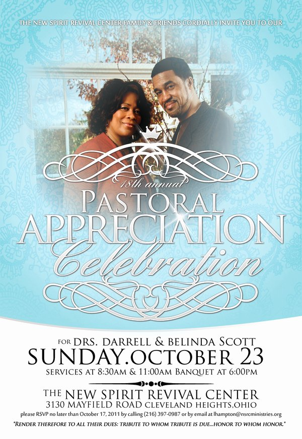 Pastor Appreciation Day Program Template Fresh Best S Of Pastor Anniversary Program Cover Sample