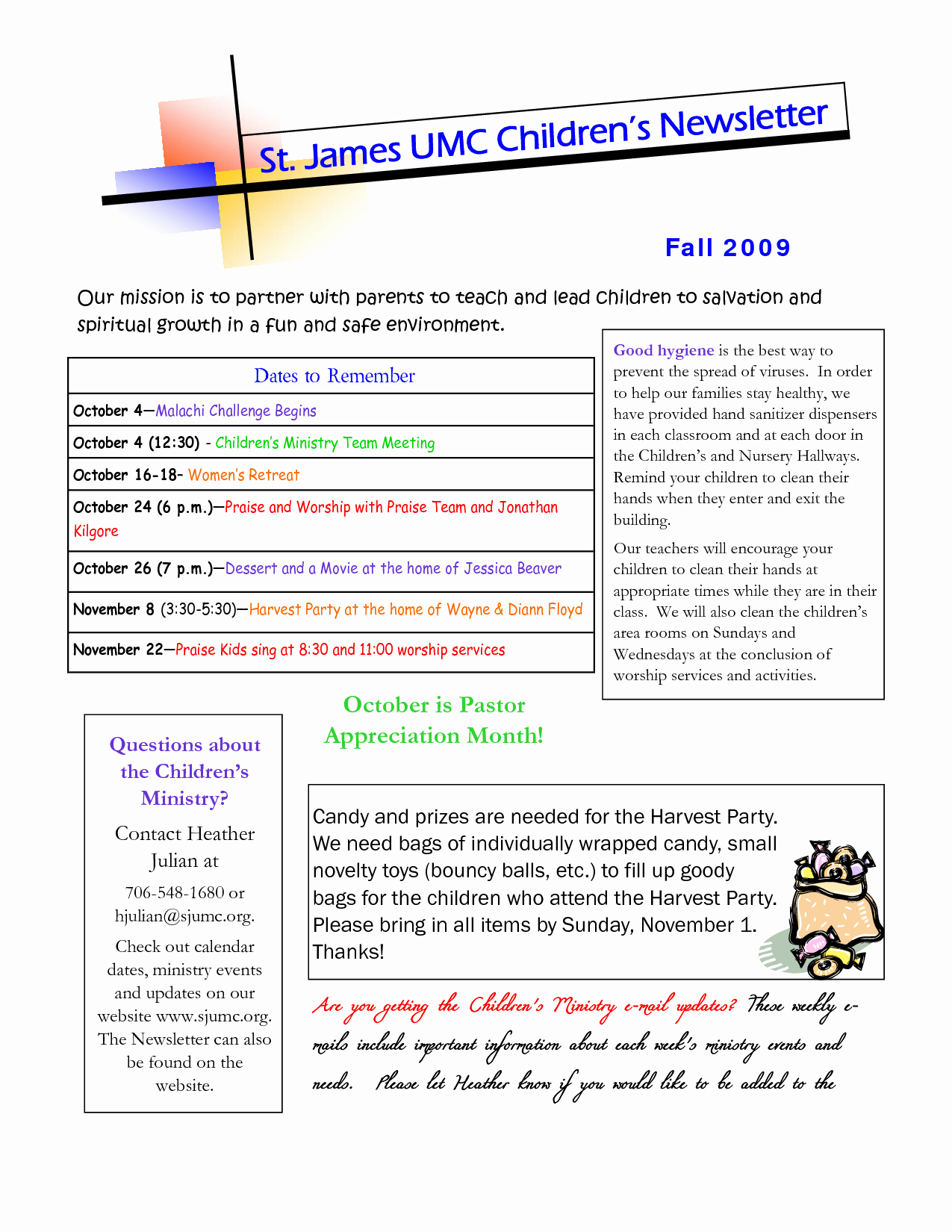 Pastor Appreciation Day Program Template Unique Best S Of Examples Pastor Appreciation Programs
