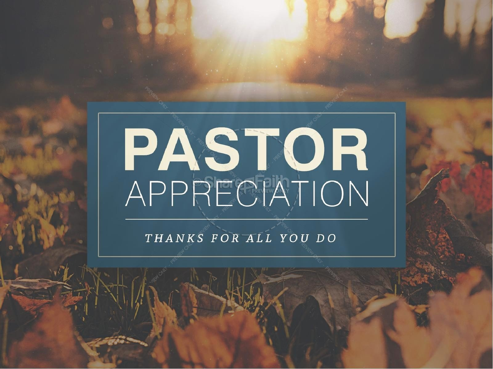 Pastor Appreciation Day Program Template Unique Pastor Appreciation Church Powerpoint