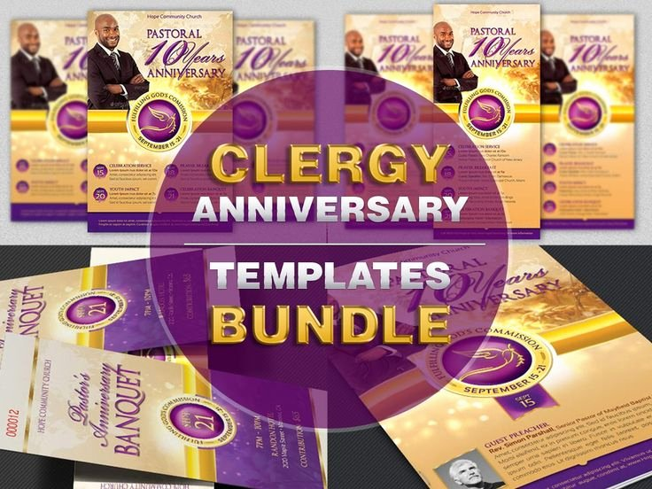 Pastoral Anniversary Program Templates Best Of 17 Best Images About Ticket Print Templates On Pinterest