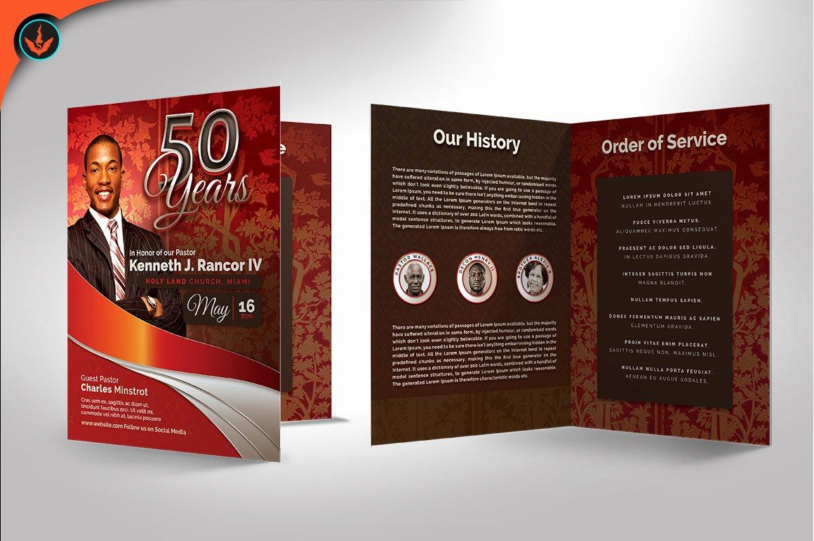 Pastoral Anniversary Program Templates Inspirational Crimson Plus Silver Pastor S Anniversar