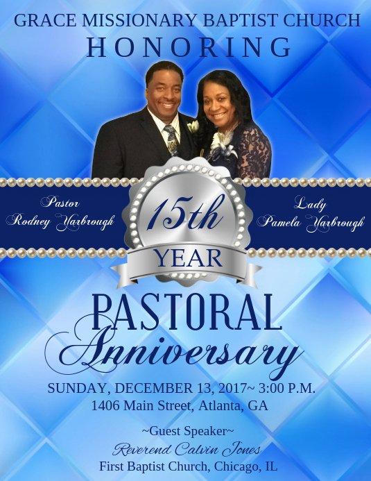 Pastoral Anniversary Program Templates Luxury Pastor Anniversary Template