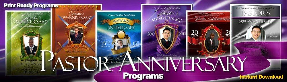 Pastoral Anniversary Program Templates New Abundant Pastor Anniversary Program