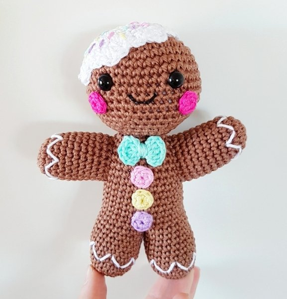 Patterns for Gingerbread Men Fresh Gingerbread Man Amigurumi Pattern Amigurumipatterns