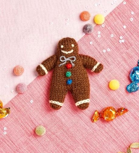 Patterns for Gingerbread Men Inspirational Free Free Gingerbread Man Knitting Pattern Patterns