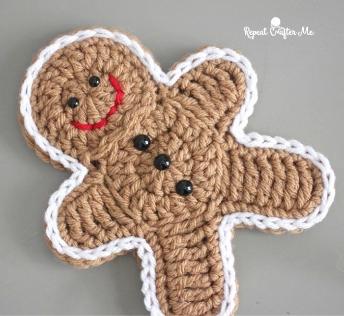 Patterns for Gingerbread Men Unique 25 Crochet Christmas ornaments Free Patterns