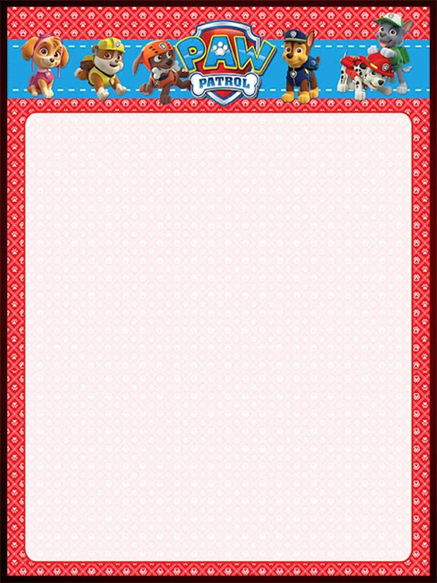 Paw Patrol Invitation Template Free Fresh Make Printable Paw Patrol Invitations Using Free Templates