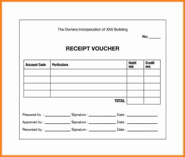 Payment Receipt format In Word Elegant 7 Cash Payment Voucher format In Word