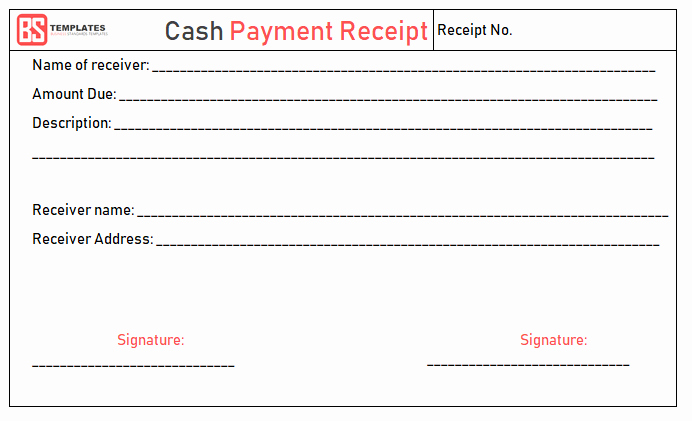 Payment Receipt format In Word Fresh Payment Receipt Template – Free Simple Word Excel