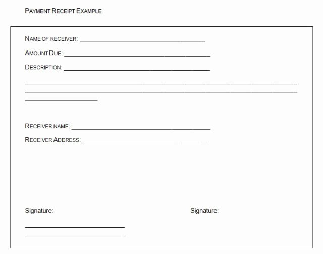 Payment Receipt format In Word Lovely Free Receipt Payment Templates Word Templates Docs