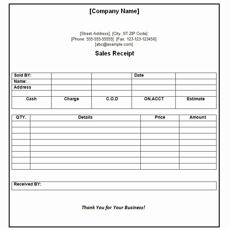 Payment Receipt format In Word Luxury 41 Payment Receipt Templates Doc Pdf