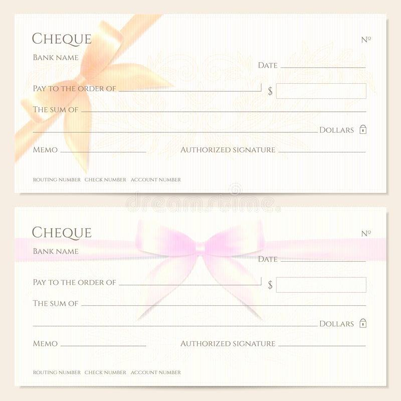 Personal Check Template Best Of Blank Personal Check for Christmas Stock Image Of