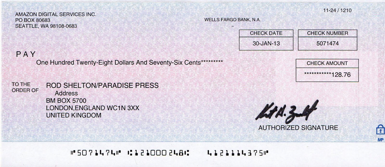 Personal Check Template Inspirational Download Free software Wells Fargo Check Printing Template