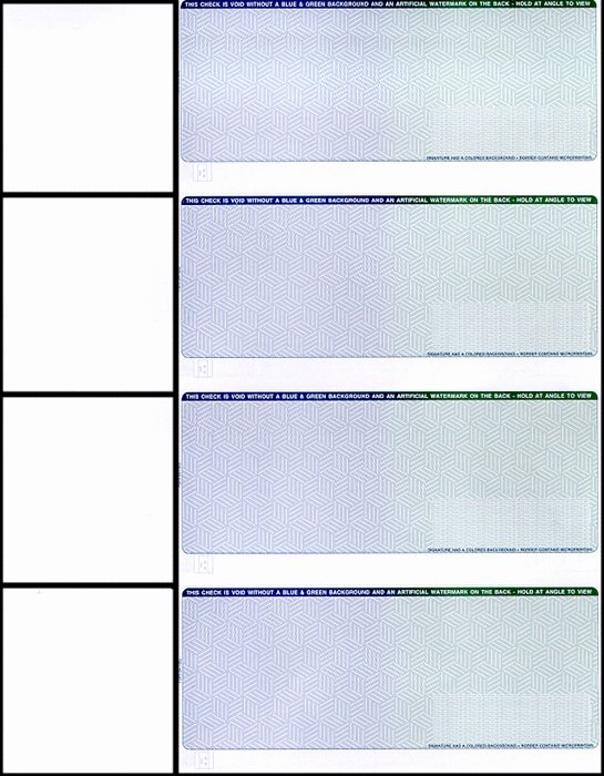 Personal Check Template New Professional 2 Color Pantograph Ultra Secure Check Stock