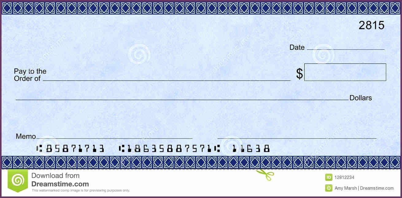 Personal Check Template Word Lovely 24 Of Fill In Blank Check Template