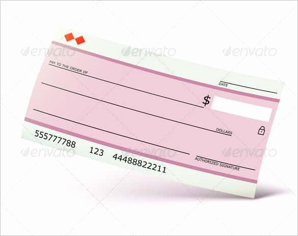 Personal Check Template Word Unique 24 Blank Check Template Doc Psd Pdf & Vector formats