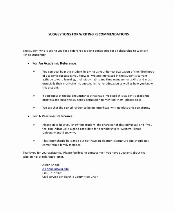 Personal Letters Of Recommendation Awesome Personal Reference Letter 7 Free Word Excel Pdf