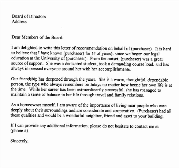 Personal Letters Of Recommendation Elegant Sample Reference Letters 17 Download Free Documents In