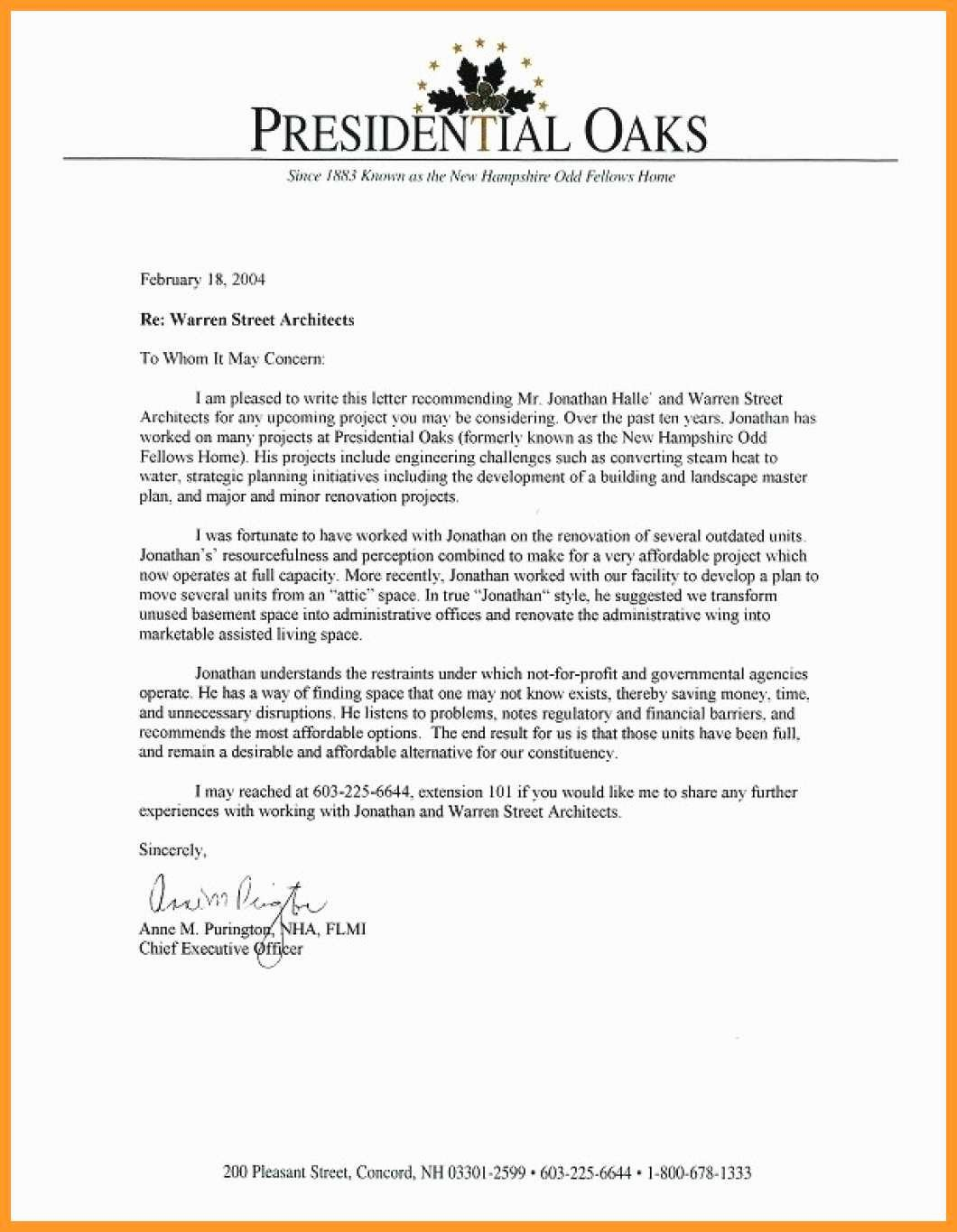 Personal Reference Letter for Apartment Best Of 9 10 Coop Personal Reference Letter