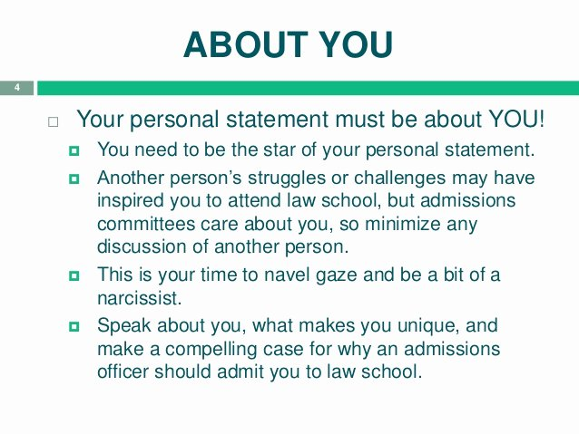 Personal Statement for School Best Of Tips for Law School Personal Statement