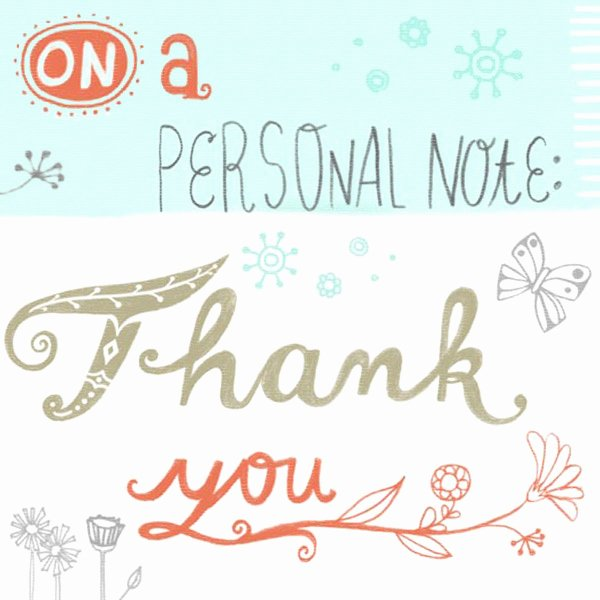 Personal Thank You Notes Sample Lovely How to Write A Thank You Note