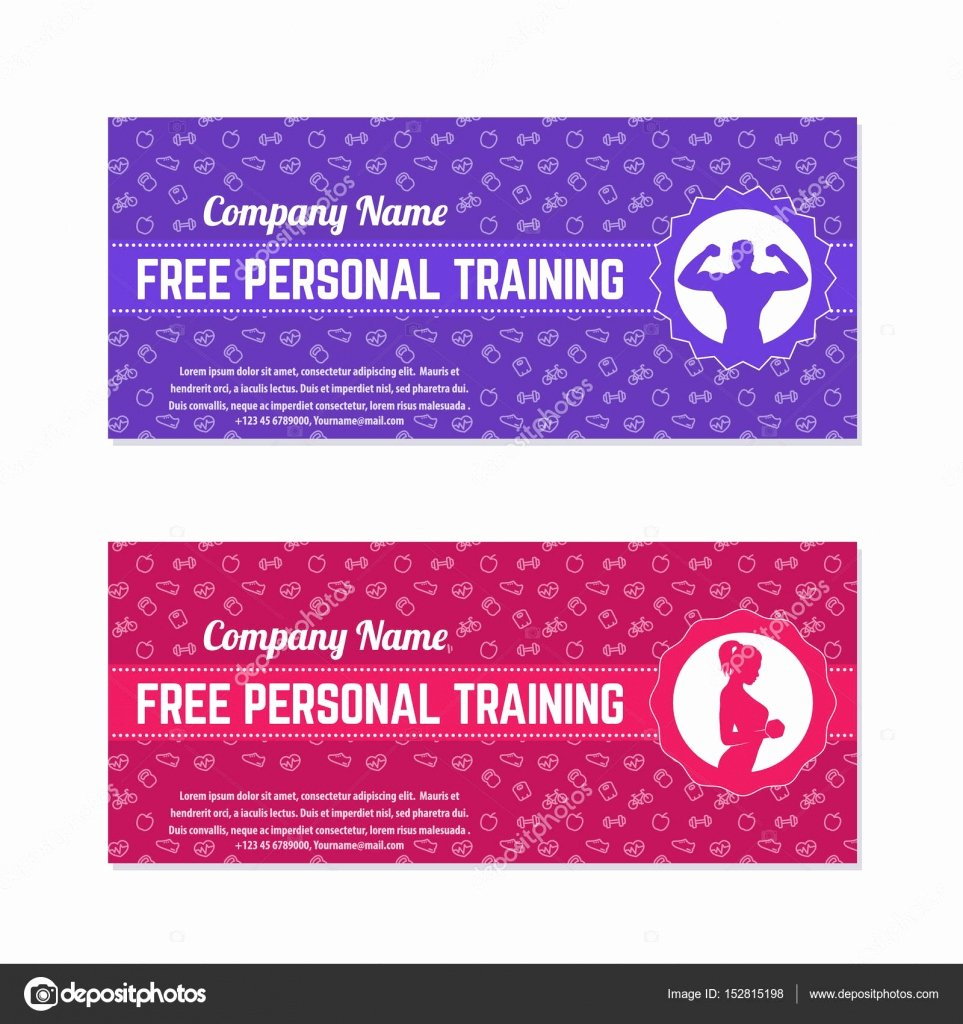 Personal Training Gift Certificate Template Lovely Gift Certificate Template Personal Training