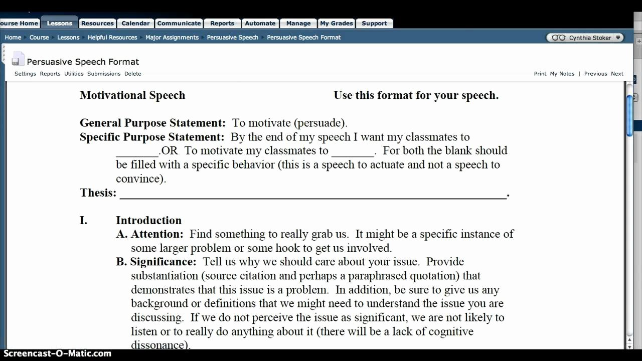 Persuasive Speech Outline New How to Write A Persuasive Outline