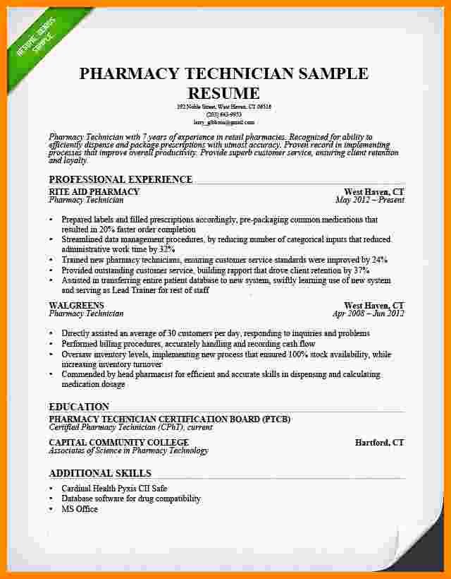 Pharmacy Curriculum Vitae Examples Beautiful 6 Cv Pharmacy assistant