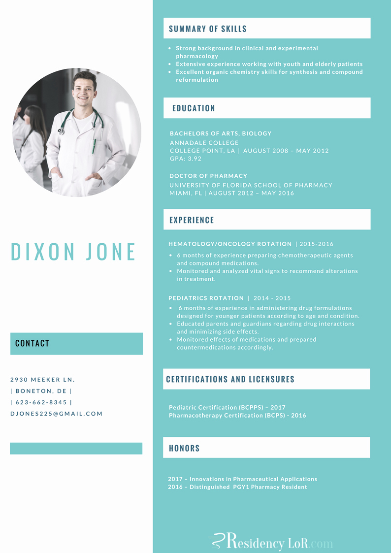 Pharmacy Curriculum Vitae Examples Beautiful Get Professional Pg2 Pharmacy Residency Cv Service Help now