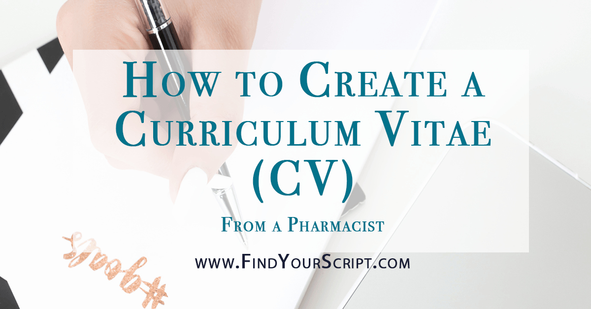 Pharmacy Curriculum Vitae Examples Best Of How to Create A Curriculum Vitae Cv