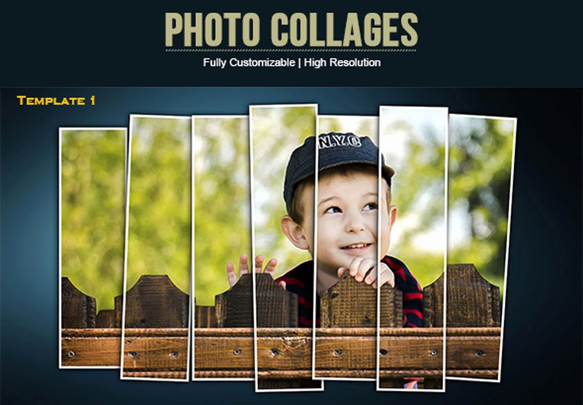 Photo Collage Template Photoshop Elegant 25 Creative Collage Templates for Adobe Shop