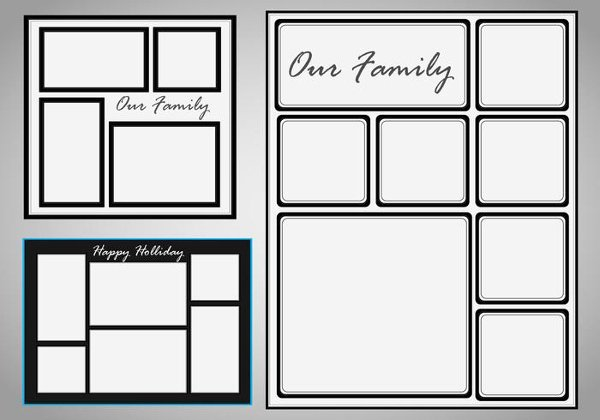 Photo Collage Template Photoshop Lovely 23 Collage Templates Free Adobe Shop Psd