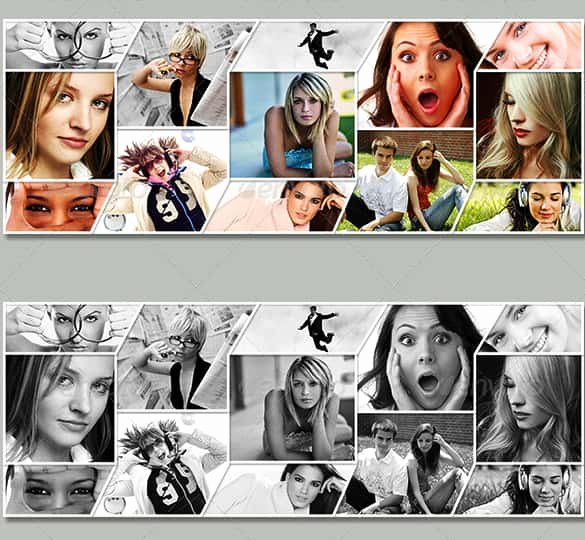 Photo Collage Template Photoshop New 25 Collage Templates Psd Vector Eps Ai