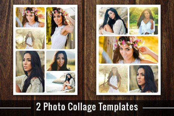 Photo Collage Template Photoshop Unique Free Download Poloroid Collage Template for Shop