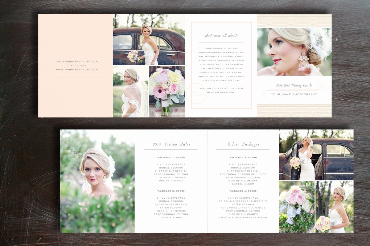 Photography Price List Template Free Beautiful Wedding Pricing Guide Graphy Price List Template