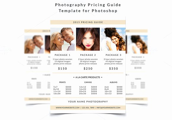 Photography Price List Template Free Fresh Graphy Marketing Deals that Will Help You Succeed