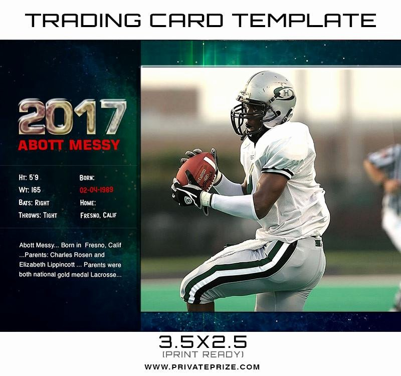 Photoshop Baseball Card Templates Beautiful Abot Sports Trading Card Template