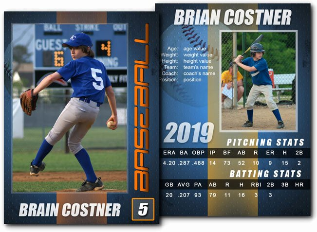 Photoshop Baseball Card Templates Elegant 15 Psd Football Trading Card Baseball Trading