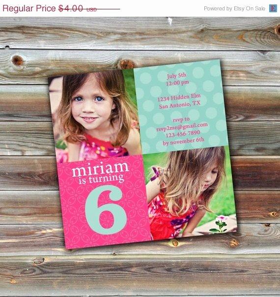 Photoshop Birthday Invitation Template Best Of On Sale 0563 5x5 Birthday Invitation Shop Psd