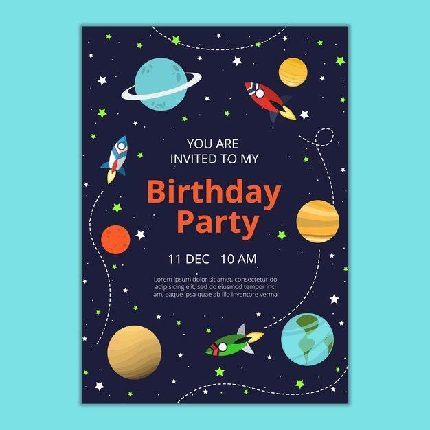 Photoshop Birthday Invitation Template Elegant Birthday Invitation Template Psd File