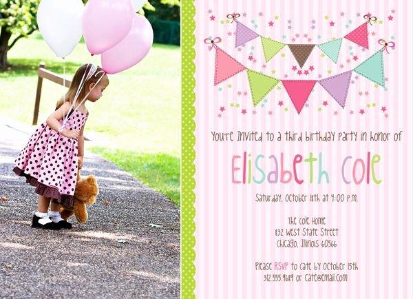 Photoshop Birthday Invitation Template Fresh Birthday Party Shop Template Pink Party Confetti and