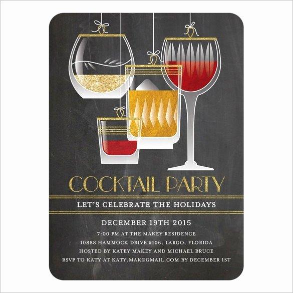 Photoshop Birthday Invitation Template Inspirational 21 Stunning Cocktail Party Invitation Templates & Designs