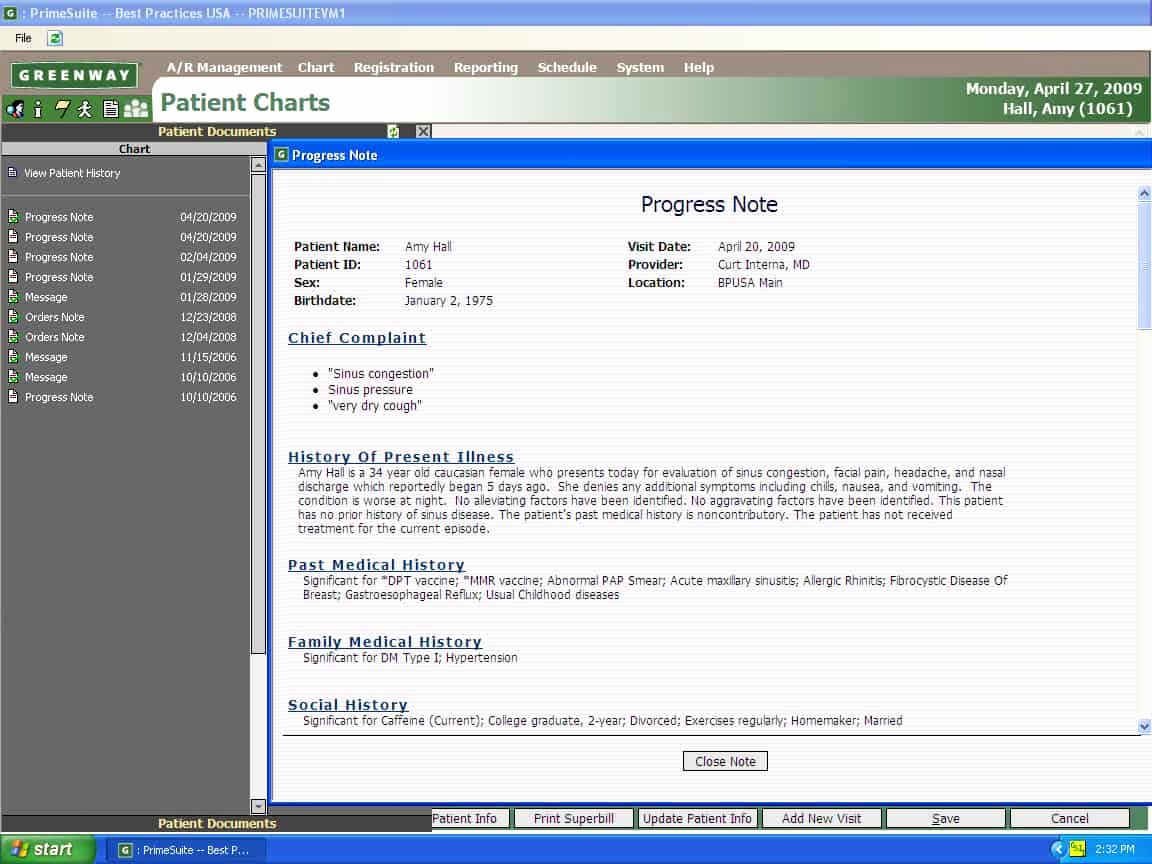 Physician Progress Note Template Awesome Emr software From Mds Medical